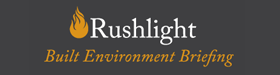 Rushlight_Built_Environment_Briefing_logo_on_grey_rgb